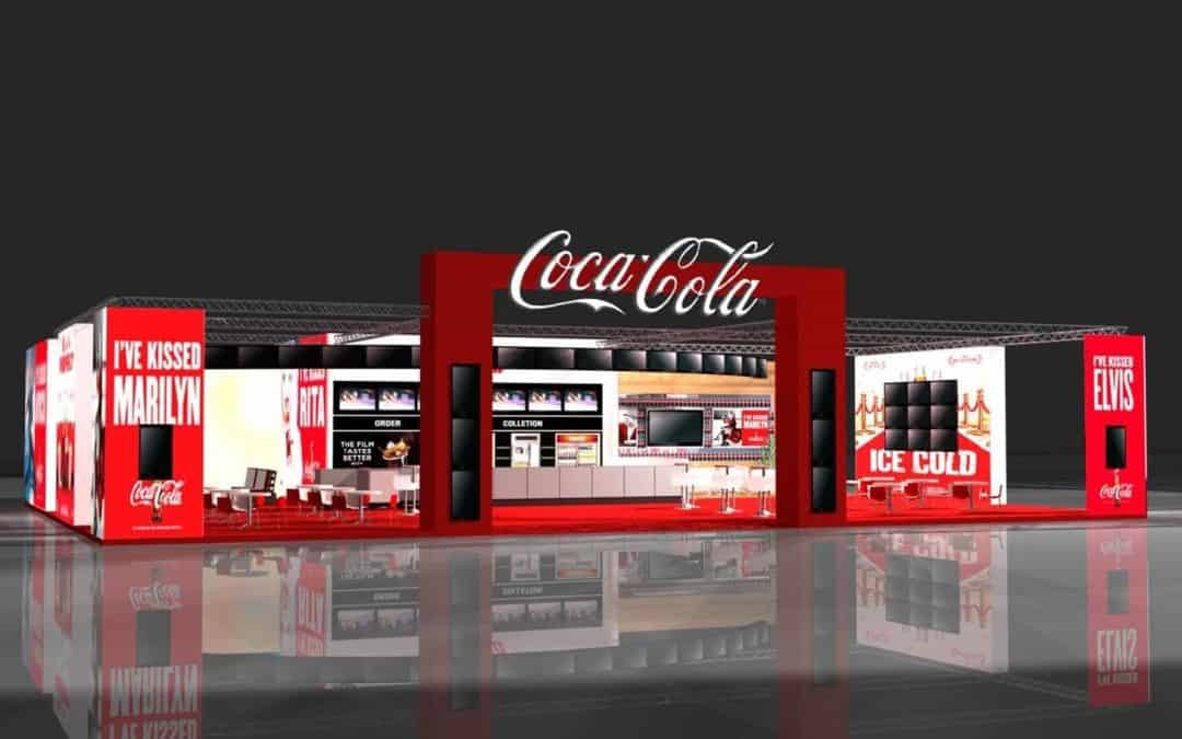 YCD Multimedia and Coca-Cola showcasing cinema digital signage at CineEurope 2015